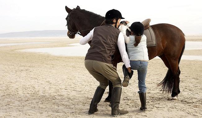 هنگامی که اسب شما برای سوار شدن سوار کار ساکن نمی ماند. ||دام وپت